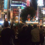 渋谷上陸!本日最後の街宣ライブ!